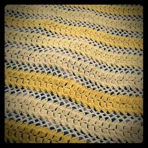 Other - Handmade crochet vintage throw blanket